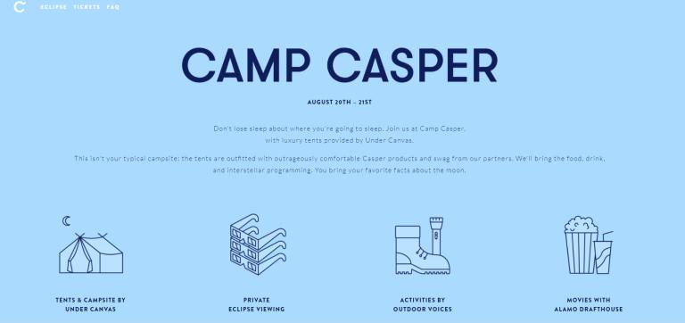 camp casper
